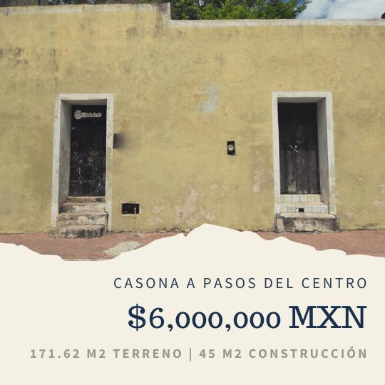 asonas coloniales Valladolid Yucatán, 3 cosas que debes saber sobre las casonas coloniales, Casas en Valladolid