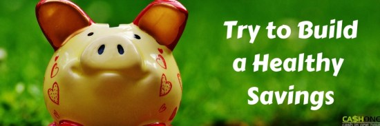 Build a Healthy Savings