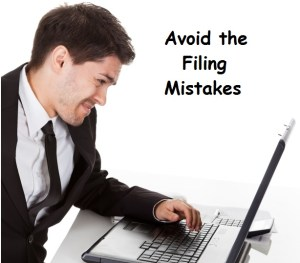 Avoid Tax Filing mistakes