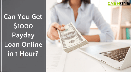 Get $1000 Payday Loan Online