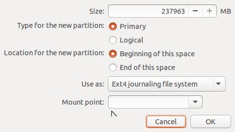 Ubuntu installation