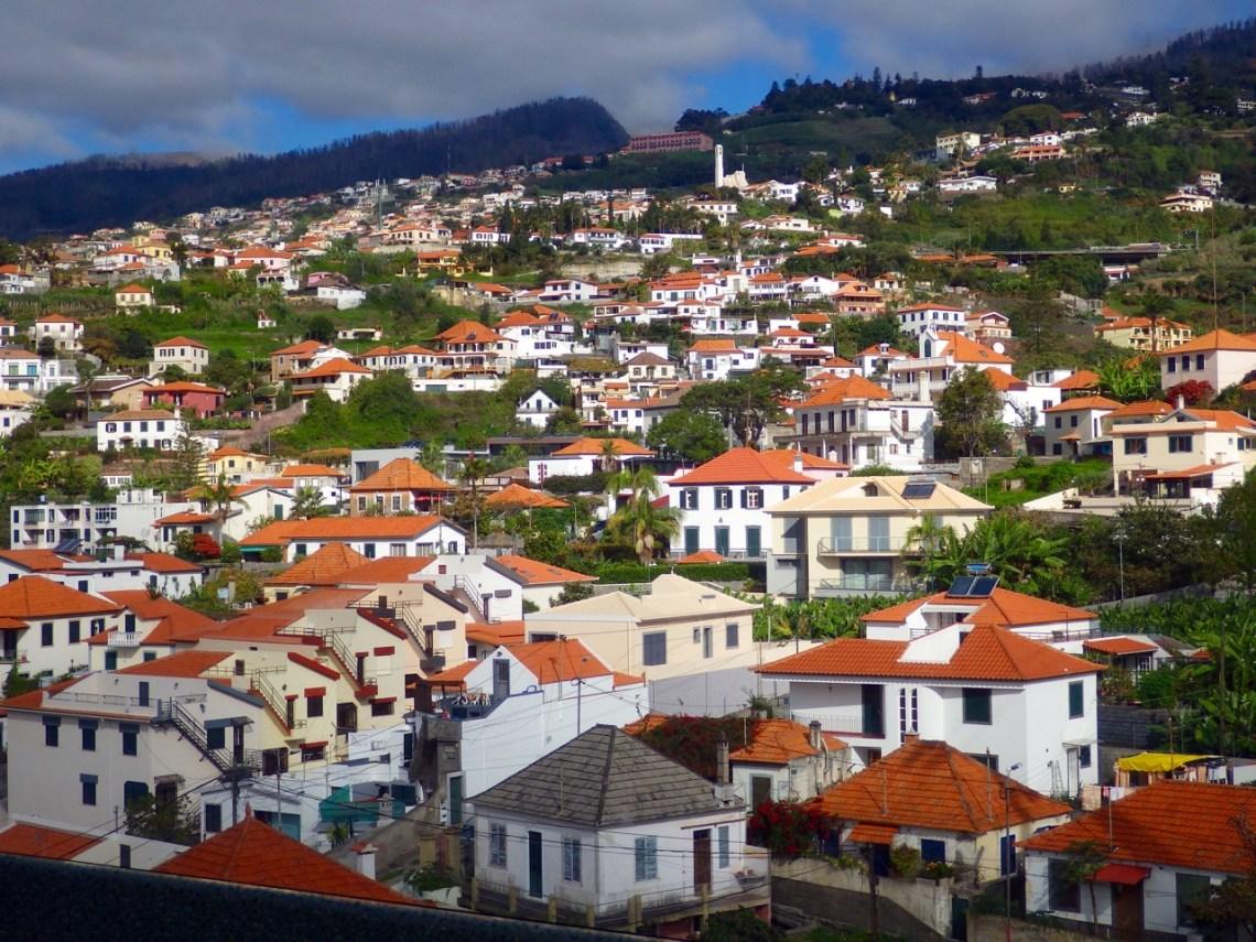 Funchal vu du téléphérique