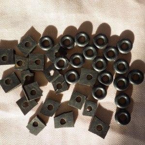 Joints achetés et fabriqués dans de la chambre à air