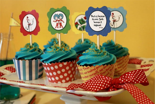 Free Dr Seuss Party Printables From Wanessa Carolina Creations Catch My Party