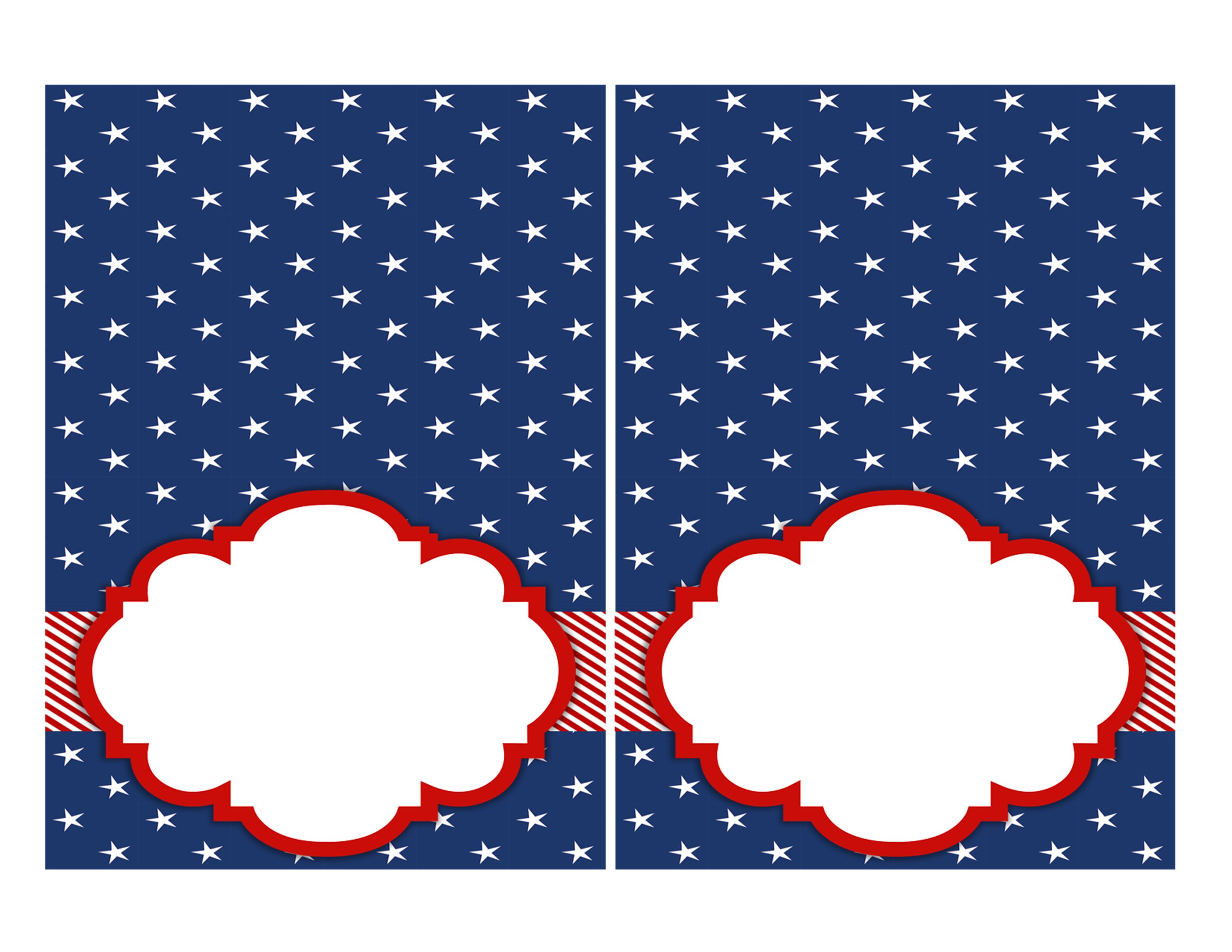 Free 4th Of July Party Printables By Designs By Serendipity