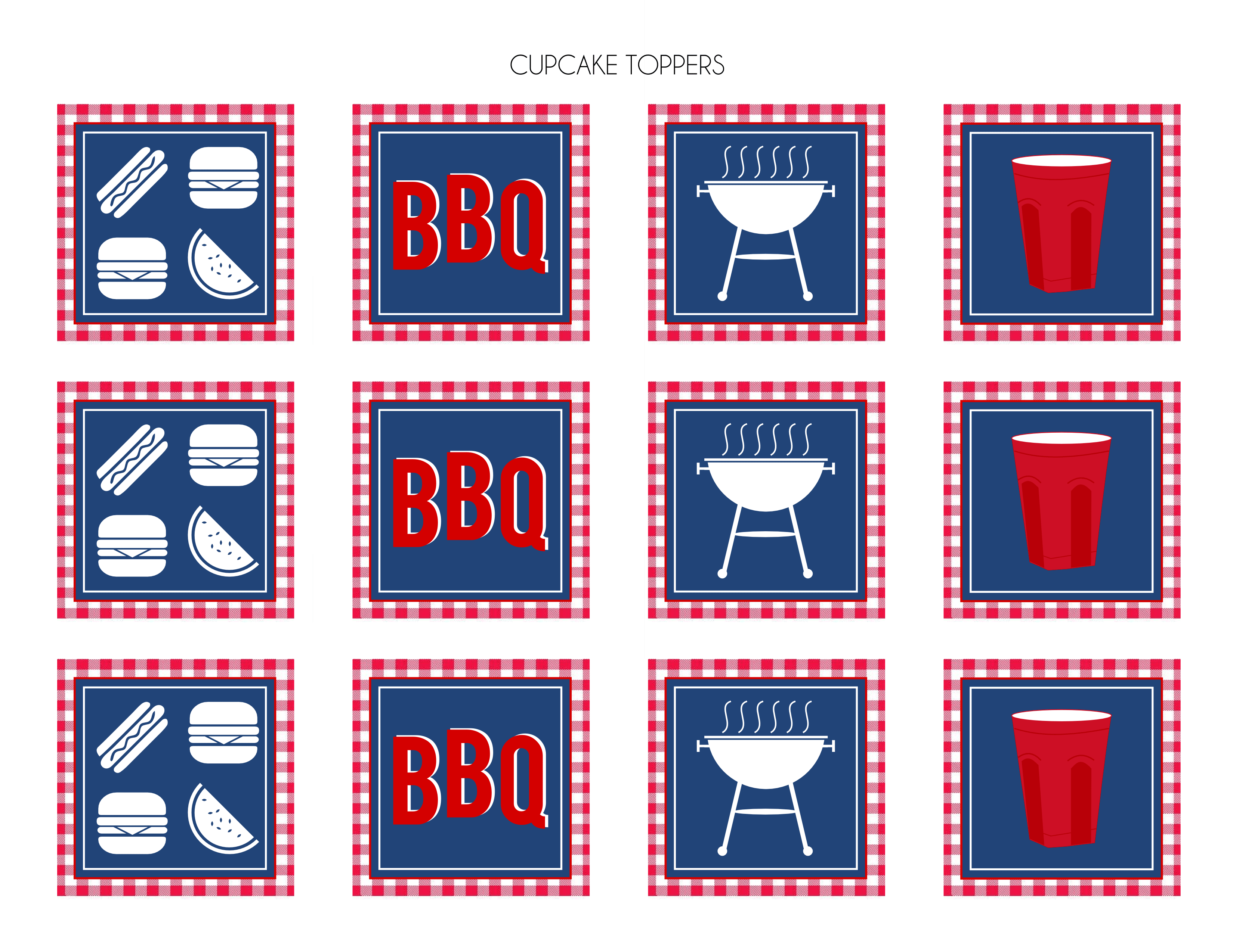 Free Red Solo Cup Bbq Party Printables