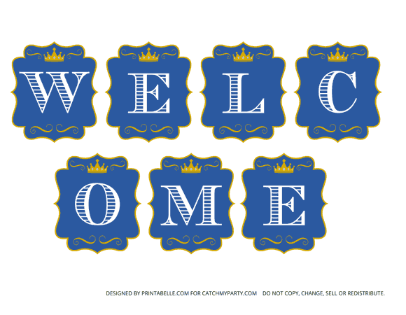 Baby Boy Welcome Home Decorations