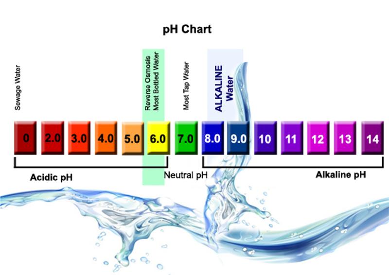 Alkaline water tester