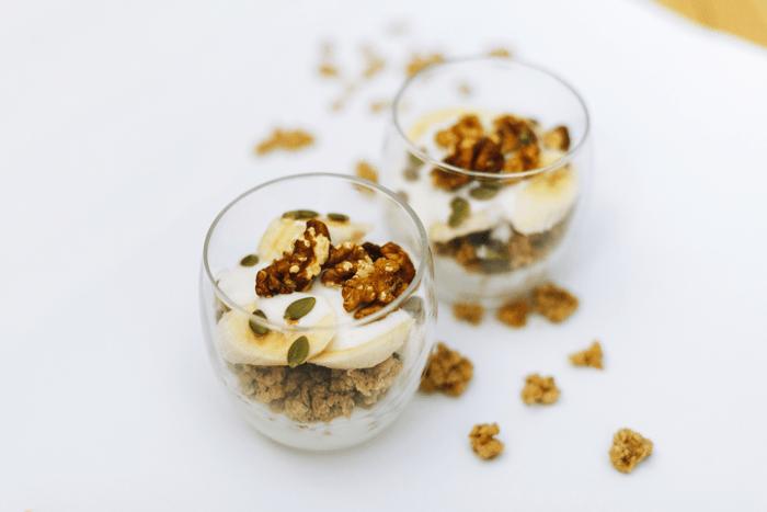 Greek yogurt Parfait