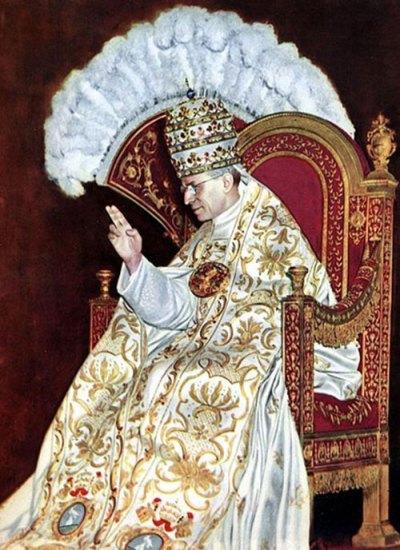 Sa Sainteté le Pape Pie XII