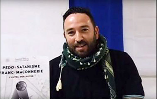 Laurent Glauzy portant le chèche