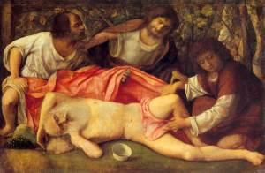 L'ivresse de Noé, Giovanni Bellini, 1515