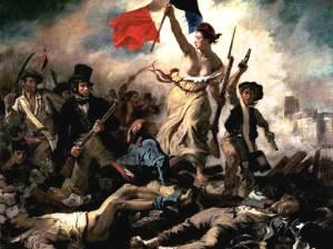 « La Liberté guidant le peuple » d'Eugène Delacroix (28 juillet 1830)