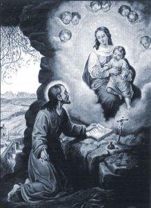 Saint Ignace de Loyola à Manrèse