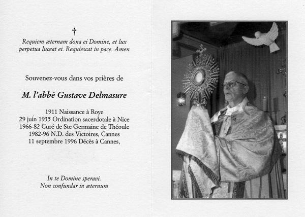 Abbé Gustave Delmasure