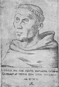 Luther par Lucas Cranach