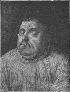 Luther à sa mort par Lucas Fortnagel