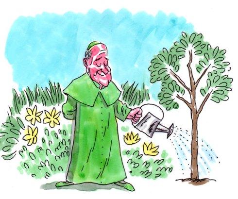 François l'antipape « Green-pope »