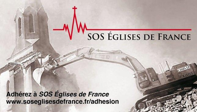 Adhérez à SOS Églises de France
