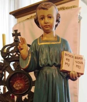 La statuette du petit Jésus