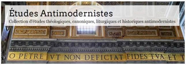 Études antimodernistes