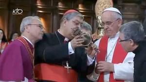 François et le miracle de saint-Janvier en 2015