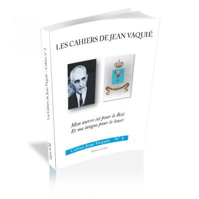 Cahier Jean Vaquié N° 1