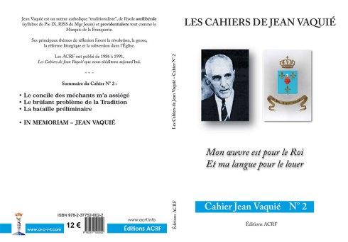 Cahier Jean Vaquié N°2