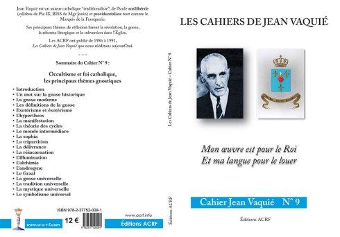 Cahier Jean Vaquié N°9