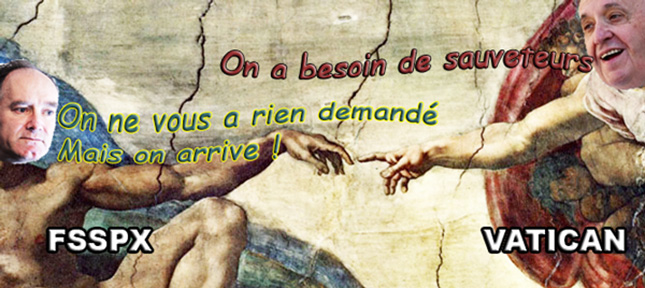<b>Rencontre officielle Bergoglio / Fellay (F$$PX)</b>