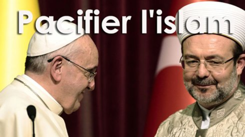 """""""pape"""" Francois et l'islam : l'enjeu c'est la paix..."""