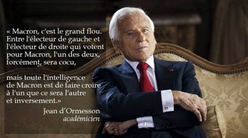 Votre suffrage universel, Français, est un mensonge universel...