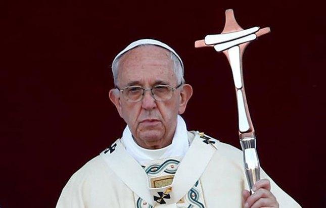 François avec la dernière Ferula faite pour la Corpus Domini à Saint Jean de Latran à Rome, 2017.