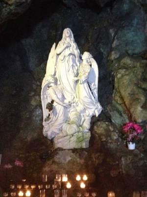 Marie Madeleine élevée par les anges