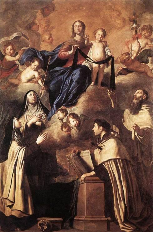 Notre-Dame du Mont-Carmel et les Saints du Carmel