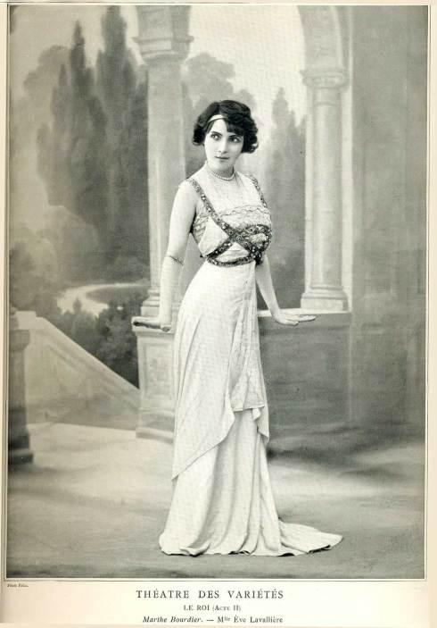 Ève Lavallière - Le Théatre des Variétés