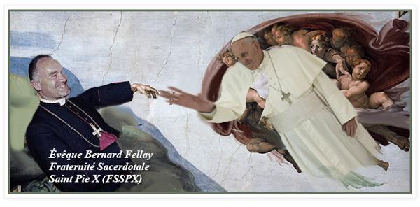 Mgr Fellay participe à la «Cognée contre Bergoglio»