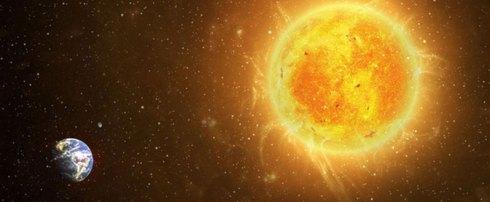 La terrible éruption solaire