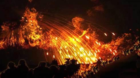 Un feu tombera du ciel et anéantira une grande partie de l'humanité…