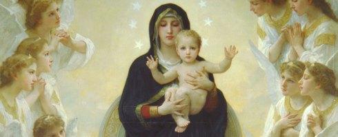 La Sainte Vierge aux anges