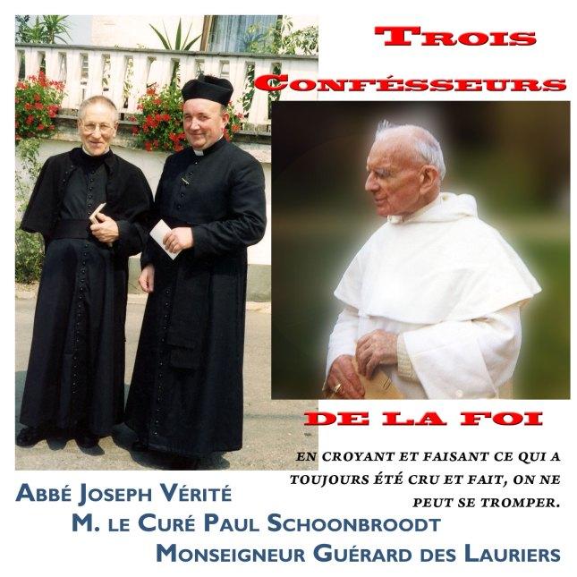 3 confesseurs de la Foi