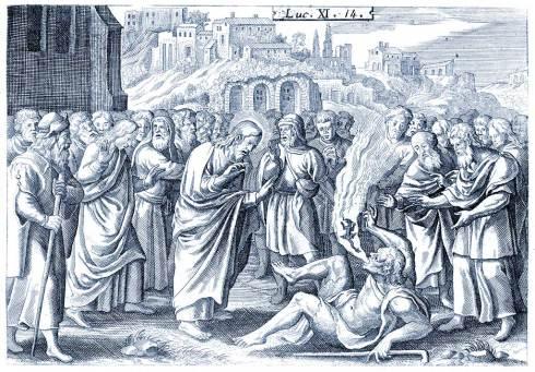 Luc 14 - Exorcisme du démon muet