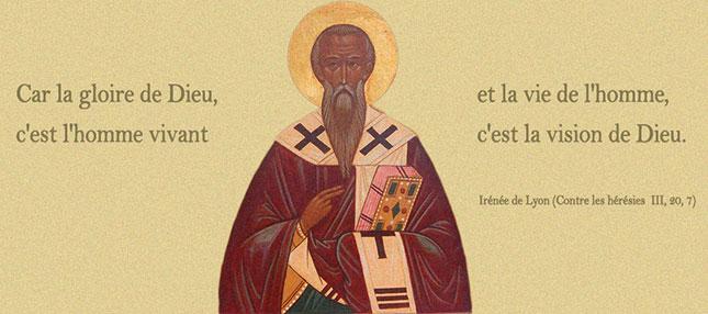 Un grand saint Lyonnais, saint Irénée, le marteau de la GNOSE | LE ...