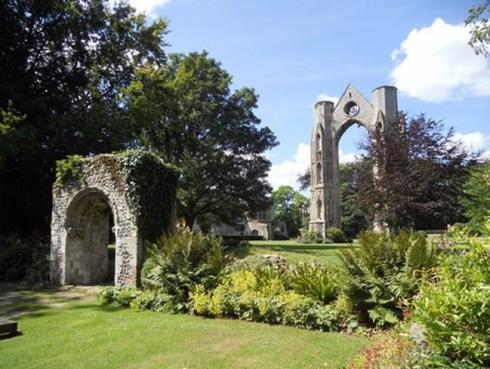 Les ruines de l'abbaye de Walsingham
