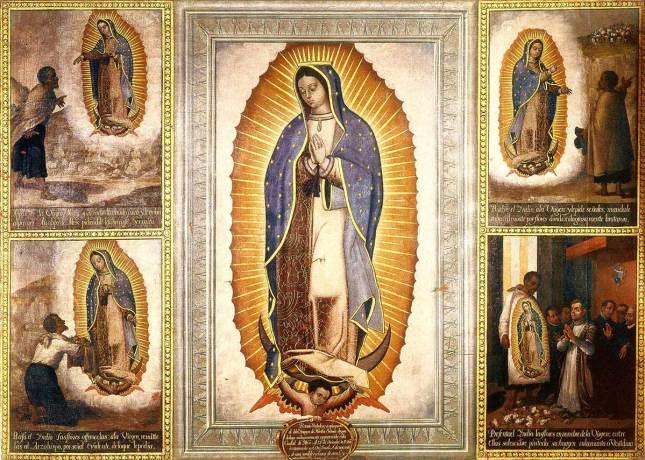 La Sainte Vierge de Guadalupe de José Juárez.