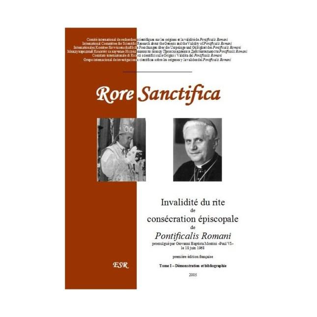 RORE SANCTIFICA I, Invalidez del rito de consagración episcopal de Pontificalis Romani
