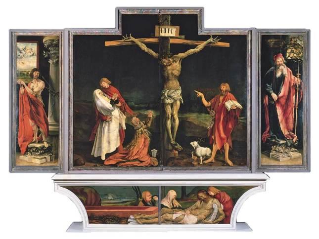 Matthias Grünewald, La Crucifixion