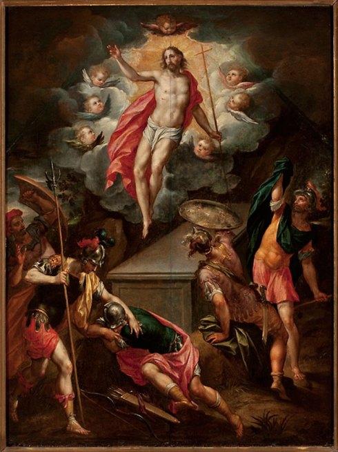 La Resurrection du Christ par Hendrick de Clerck