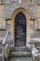 Porte du monastère