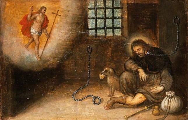 Saint Roch en prison à Montpellier